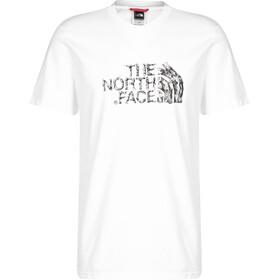 The North Face Flash Kurzarm T-Shirt Herren white/black